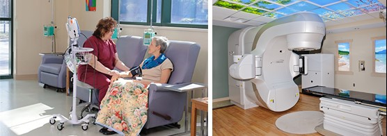 Caring and advanced technology are both found at Wood County Hospital's Maurer Cancer Care Center.